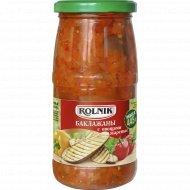 Баклажаны с овощами жареные «Rolnik» 445 г