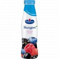 Йогурт «Савушкин» лесная ягода 2%, 415 г.