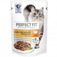 Влажный корм для кошек «Perfect Fit» с индейкой в соусе, 85 г