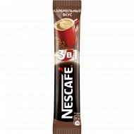 Кофейный напиток «Nescafe» карамельный вкус 3 в 1, 16 г.