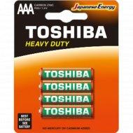 Элемент питания «Toshiba» R03KG BP-4TGTE SS