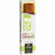 Шоколад горький 68% «Томер» без добавления сахара, 30 г