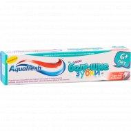 Зубная паста «Аквафрэш юниор», 50 мл.