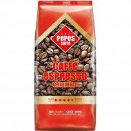 Кофе натуральный в зернах с кофеином «Pepes Caffe Espresso» 1 кг.