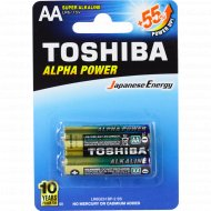Элемент питания «Toshiba» LR6GCH BP-2 super alkaline, 2 шт.