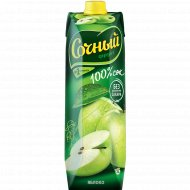 Сок «Сочный фрукт» яблочный, 1л.