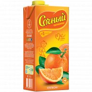 Напиток сокосодержащий «Сочный витамин» апельсиновый, 1.95 л.