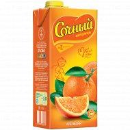 Сокосодержащий напиток «Сочный витамин» апельсин, 1.95 л