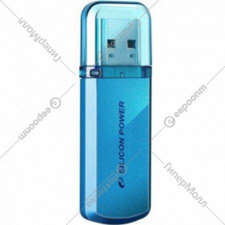 Накопитель USB «Silicon Power» 8 Gb, голубой.