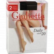 Носки женские «Giulietta» 20 den, nero.