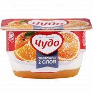 Десерт творожный взбитый «Творожок» апельсин, 4.2%, 100 г