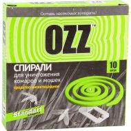 Спирали «OZZ» антикомариные, 10 шт.