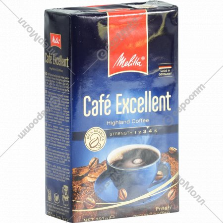 Кофе Melitta «Cafe Excellent» молотый, 250г.