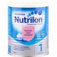 Смесь молочная «Нутрилон» (гипоаллергенный-1), 400 г.