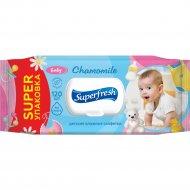 Салфетки влажные «Super fresh» baby, 120 шт.