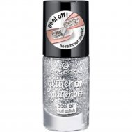 Лак для ногтей «Essence» Glitter on glitter off peel off, тон 01 Put a Ring On It, 8 мл