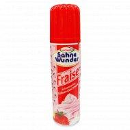 Продукт молочный «Sahne Wunder» клубника, 30%, 250 мл.