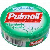 Карамель леденцовая «Pulmoll» эквалипт-ментол со стевией, 45 г.