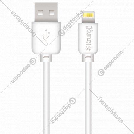Кабель USB «Dotfes» lightning classic, 1 м.