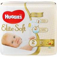 Подгузники «Huggies» Elite Soft, размер 2, 3-6 кг, 27 шт.