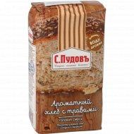 Смесь для выпечки «С. Пудовъ» Ароматный хлеб с травами, 500 г.