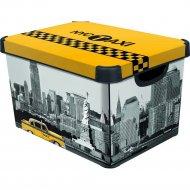 Коробка «Curver» Taxi NY, L, 39х29х23 см