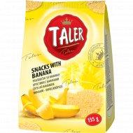 Хрустики «Taler» с бананом, 135 г.
