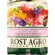 Почвогрунт «Rost Agro» цветочный, 10 л