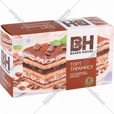 Торт «Baker House» тирамису, 350 г.