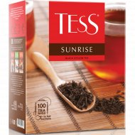 Чай чёрный «Tess» Sunrise, 100 пакетиков.