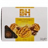 Мини-пирожные крошковые «Baker House» карамель, 240 г.
