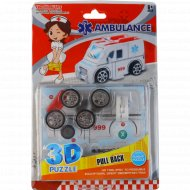 Игрушка детская 3D пазл «Скорая помощь».