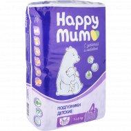 Подгузники «Happy mum» размер 4, 7-18 кг, 50 шт