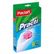 Перчатки «Paclan Practi» латекс р.S, 10 штук.