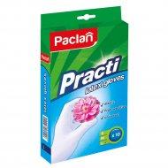 Перчатки «Paclan Practi» латекс р.L, 10 штук.