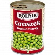 Горошек «Rolnik» консервированный 400г.