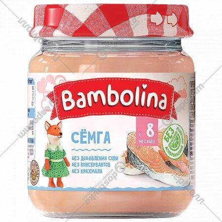 Пюре «Bambolina» семга, 100 г