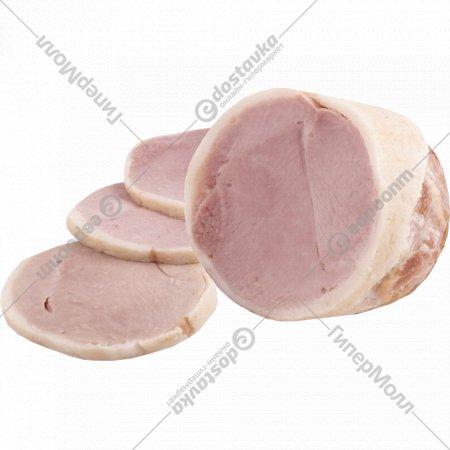 Продукт из свинины «Рулет праздничный» копчено-вареный, 1 кг., фасовка 0.45-0.5 кг