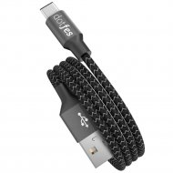 Кабель USB «Dotfes» Type-C, A06T Dual Color, 1 м.