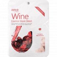 Маска для лица «La Miso» Красное вино, 3 шт х 21 г