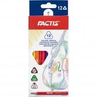 Карандаши цветные «Factis» F07132212, 12 цветов