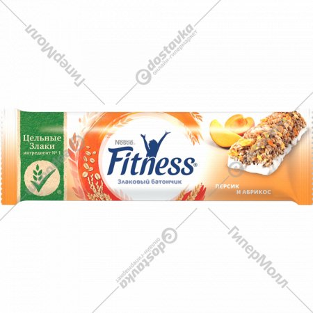 Батончик «Fitness» персик и абрикос, 23.5 г.