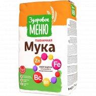 Мука пшеничная хлебопекарная «Здоровое меню» 2 кг.