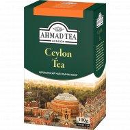 Чай листовой «Ahmad Tea» цейлонский черный, 100 г.