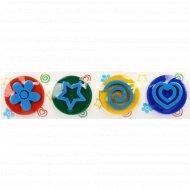 Набор для детского творчества «Пальчиковые краски со штампиками».