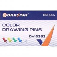 Кнопки «Darvish» силовые цветные, 50 шт.