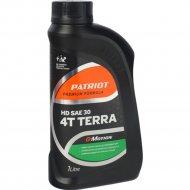 Масло «Patriot» G-Motion HD, SAE 30, 4Т, 1л