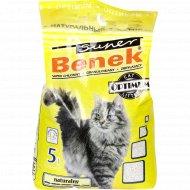 Наполнитель «Benek» Оптимум для кошачьего туалета, натуральный, 5 л.