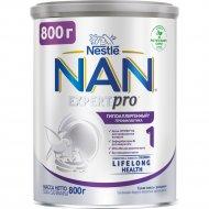 Смесь сухая молочная «NAN 1» гипоаллергенная, с рождения, 800 г.