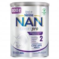 Смесь сухая молочная «NAN 2» гипоаллергенная, 800 г.